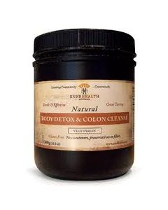 Enerhealth Natural Body Detox & Colon Cleanse 300g (10.3oz)
